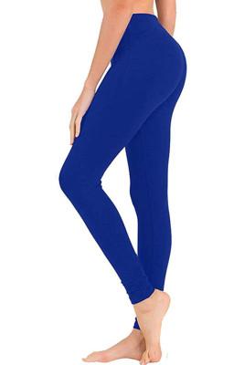 Blue Hip Bottoming Yoga Pants
