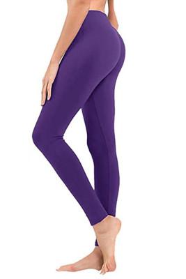 Purple Hip Bottoming Yoga Pants