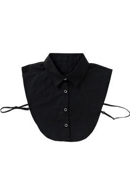 Black Fake Collar Women Shirts