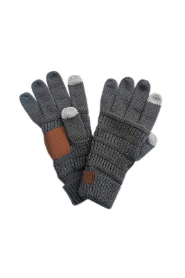 Dark Gray Thick With Lable Gloves