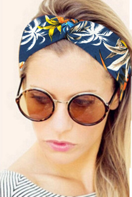 Floral Cross Headband