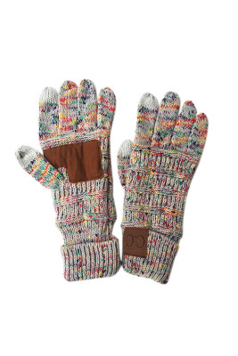 Gray Thick With Lable Gloves