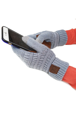 Light Gray Thick With Lable Gloves