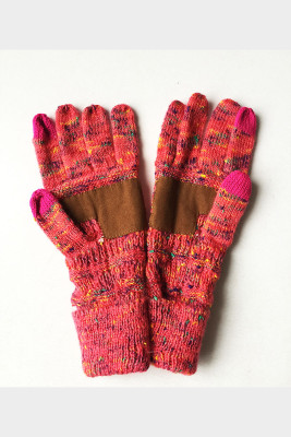 Watermelon Red Thick With Lable Gloves