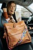 Brown Large Capacity Backpack