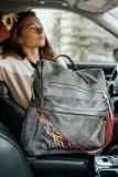Grey Large Capacity Backpack
