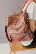 Pink Large Capacity Backpack