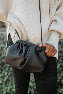 Black Clutch Crossbody Bags