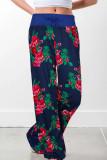 Fashion Casual Printed  Wide Leg Pants