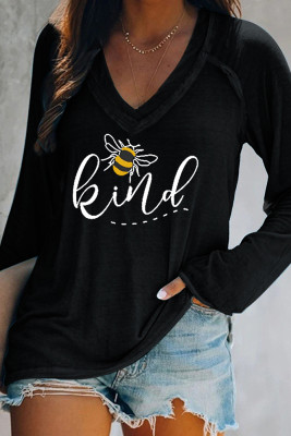 Bee Kind Essencial Long Sleeves Top
