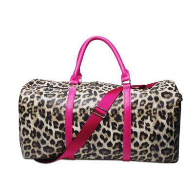 Leopard Large Capacity Weekender Bag