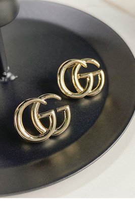 Letter G Simple Earrings