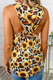 Sunflower Twisted Tank Top