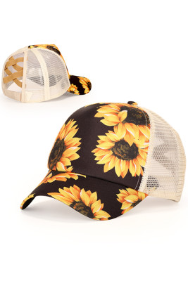 Sunflower Outdoor  Baseball Cap