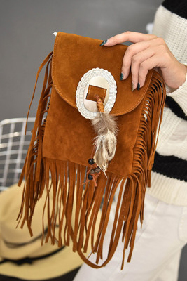 Bohemian Tassel Messenger Bag