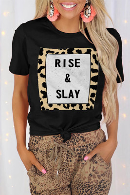 Rise&Slay Printed Graphic Tee