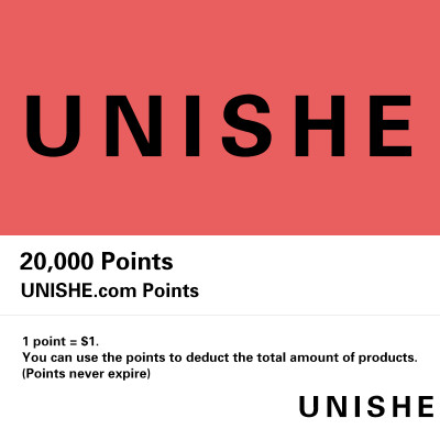 UNISHE Points recharge: 5% off 20,000 points