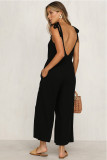 Black Sling Sexy Jumpsuit