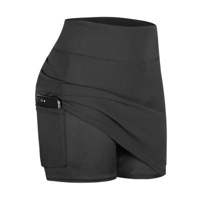 Yoga Mini Skirt With Pocket Shorts