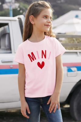 Pink MINI Matching Girls' Tee