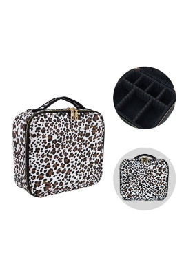 Leopard Multifunctional Nail Cosmetic Bag