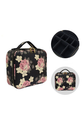 Floral Multifunctional Nail Cosmetic Bag