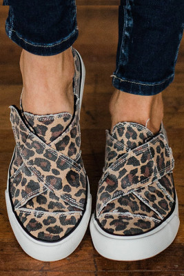 Camouflage Leopard Printed Sneakers