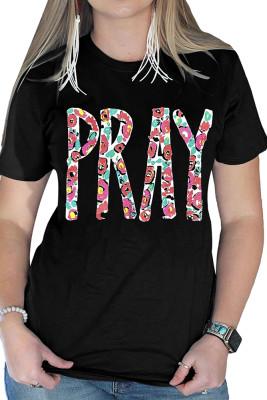PRAY Printed Graphic Tee