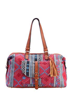 Aztec Large Capacity Weekender Bag Unishe Wholesale