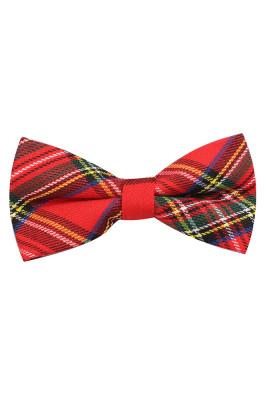 Plaid Men's Bow Tie Unishe Wholesale
