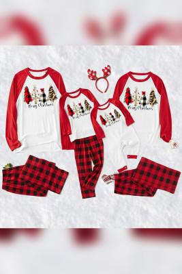 Family Matching Chrismas Long Sleeve Tops&Pants Loungewear Unishe Wholesale