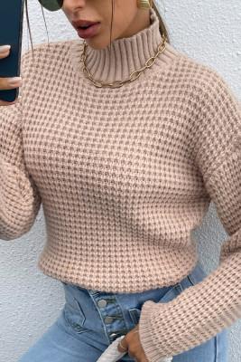 Knit High Collar Sweater Women UNISHE Wholesale
