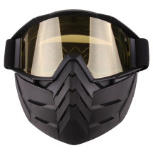 Cool Tactical Mask Soft Bullet Dart Protective Mirror Face Mask