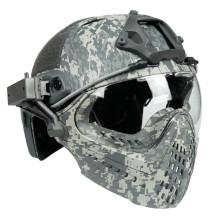 WST Navigator Tactics Camouflage Protecting Helmet for Outdoors Activities - ACU Type L
