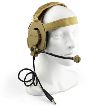 WST Tactics Head-mounted Gen.3 Earphone for Outdoor WG Game