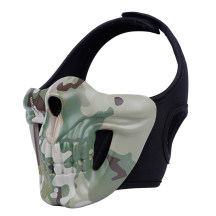 WST Skull Half Face Mask for Outdoor Wargame Cosplay