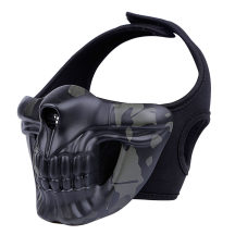 WST Skull Half Face Mask for Outdoor Wargame Cosplay - BCP Type