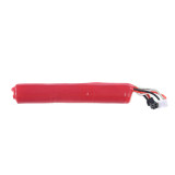Lithium Battery for LH/JM and Most Water Beads Blaster with SM Interface  - Transparent Red