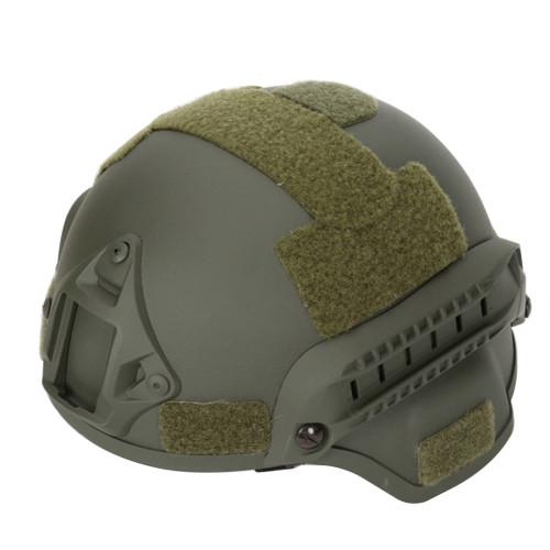 MICH2001 Outdoor Tactical Helmet Protective Anti-riot Lightweight Helmet - Army Green