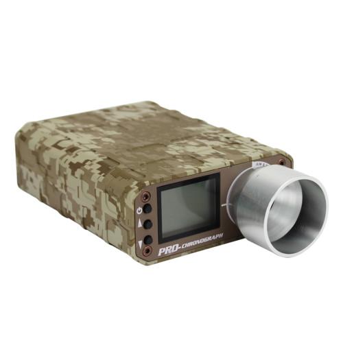 WST X3400 Upgraded Precise Multi-functional Professional Tachometer Speed Tester for Nerf Blaster - Desert Digital Color