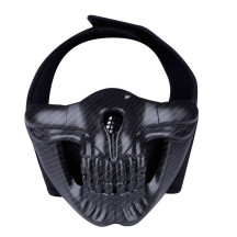 WST Skull Half Face Mask for Outdoor Wargame Cosplay - CF Type