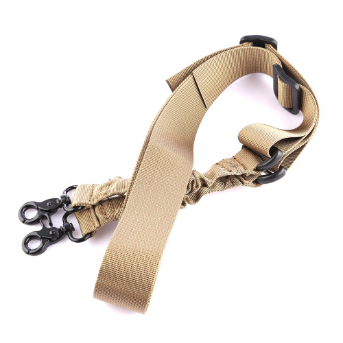 Round Head Waterproof Two Point Belt  - Sand Color
