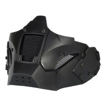 WST Half Face Iron Warrior Tactical Mask for Fast Helmet