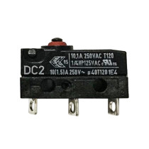 DC2 Inclined Foot Point Reset 10.1A 250V Microswitch