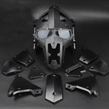 WST Wosport Helmet for Wargame - Black