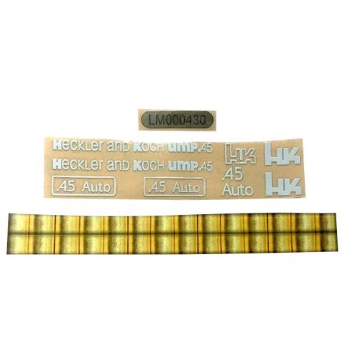 UMP45/HK Metal Stickers For Water Gel Beads