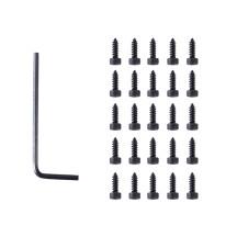 25Pcs  Screws for Jinming Gen8 M4A1 Receiver- Black