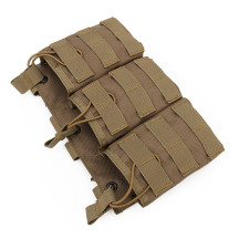 WST Triple Stacker Magazine Pouch for G36 Mag - Tan