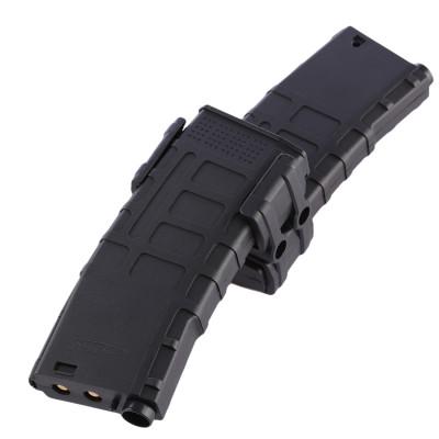 Jinming Nylon Clip Parallel Connector Reload Clip Coupler Modified Part for M4 - Black