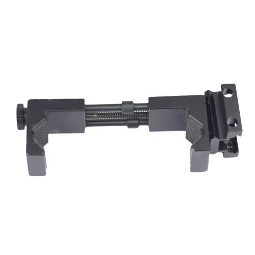 Metal Phone Bracket Holder for Most Water Gel Beads Blaster with 21mm Side Rail RIS/RAS/Rails - Black